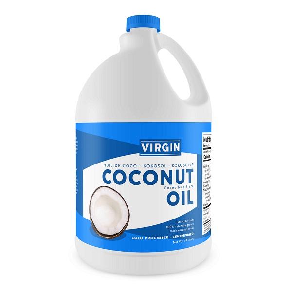 Virgin Coconut Oil - 4 Liters - gallon