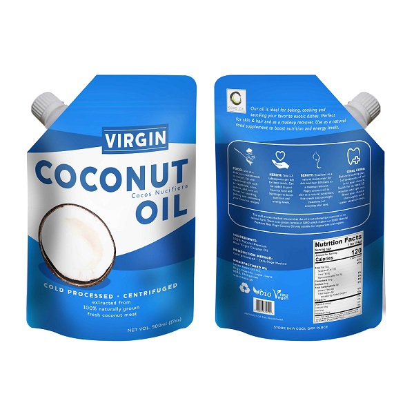Virgin Coconut Oil 500ml pouch