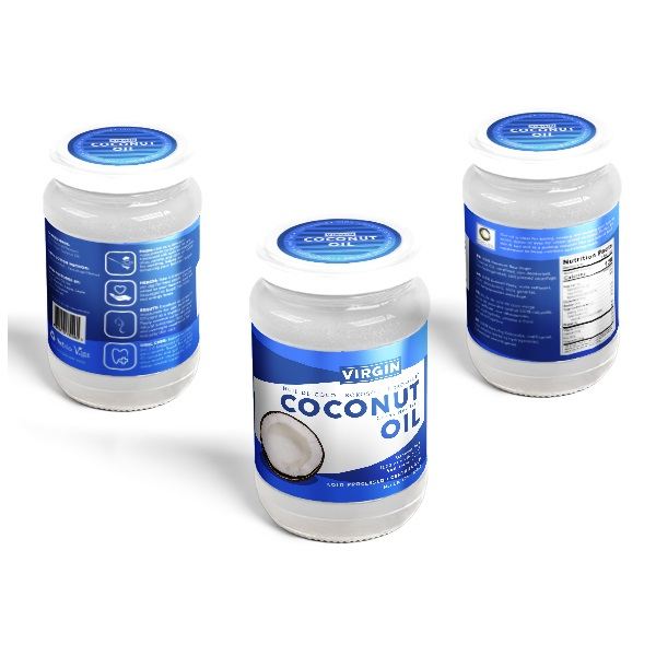 Virgin Coconut Oil Jar