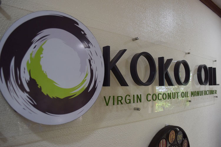 Koko Oil virgin coconut oil manufacturer